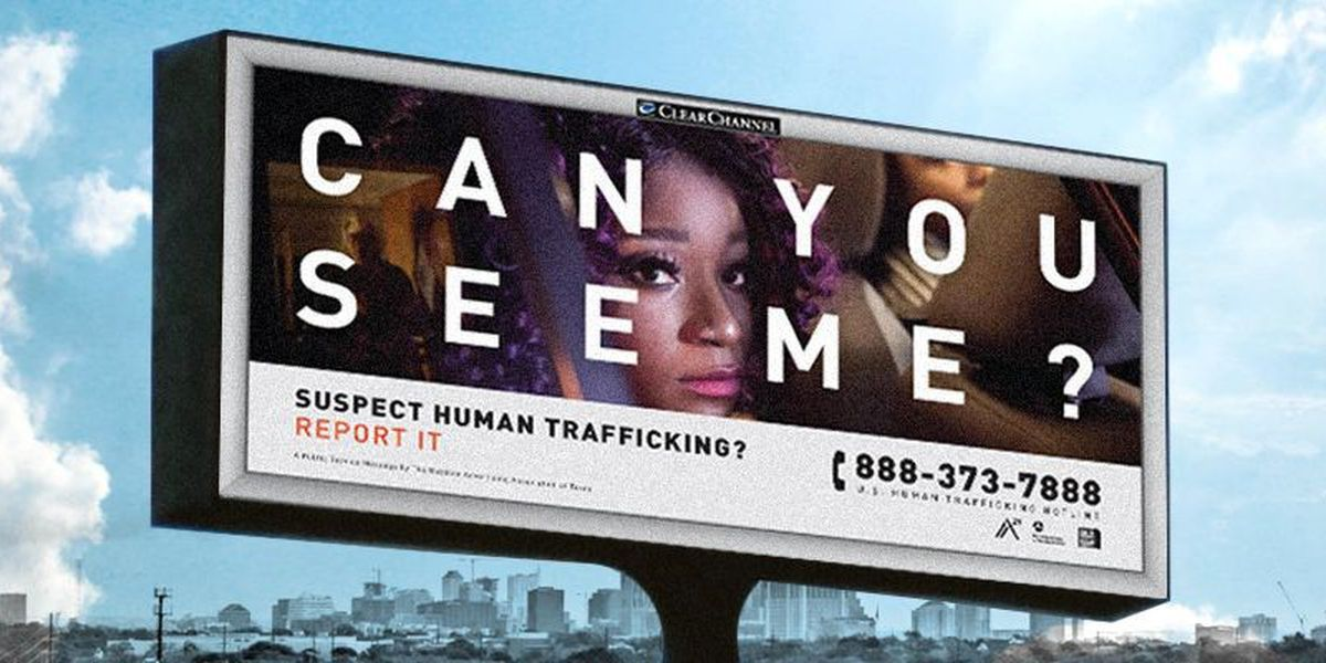 Family Support Services unveils new anti-human trafficking billboard campaign