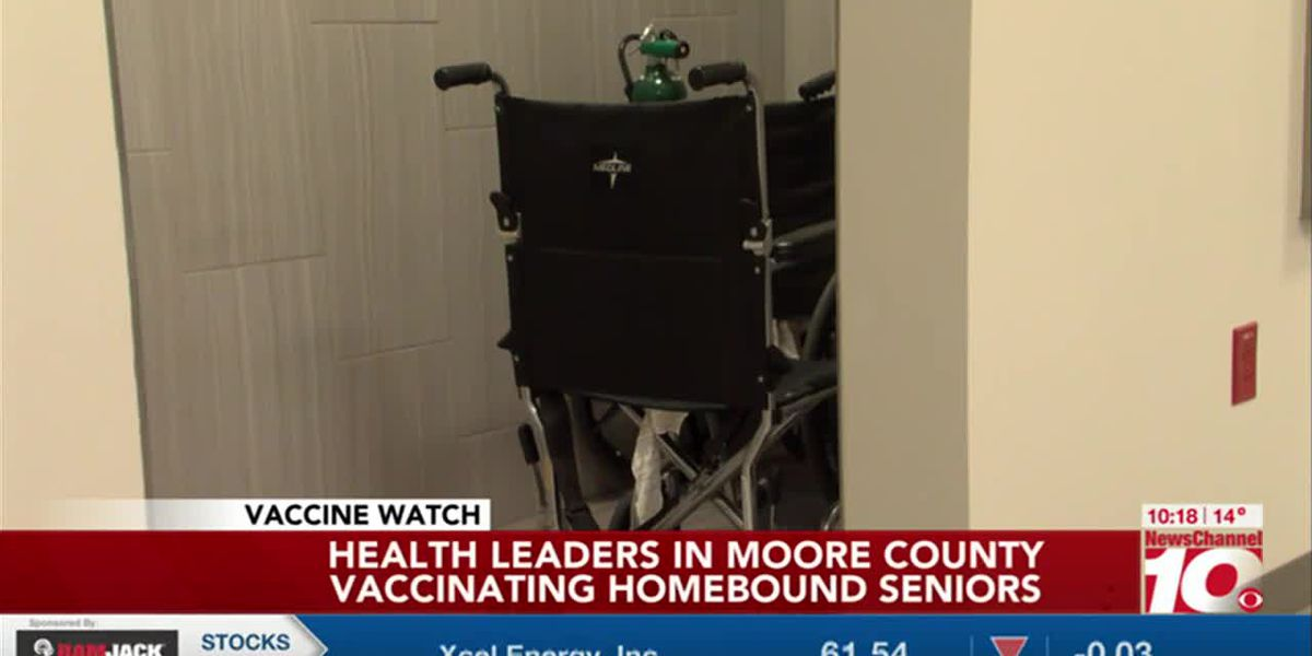 VIDEO: Moore County finds way to vaccinate homebound seniors in their homes