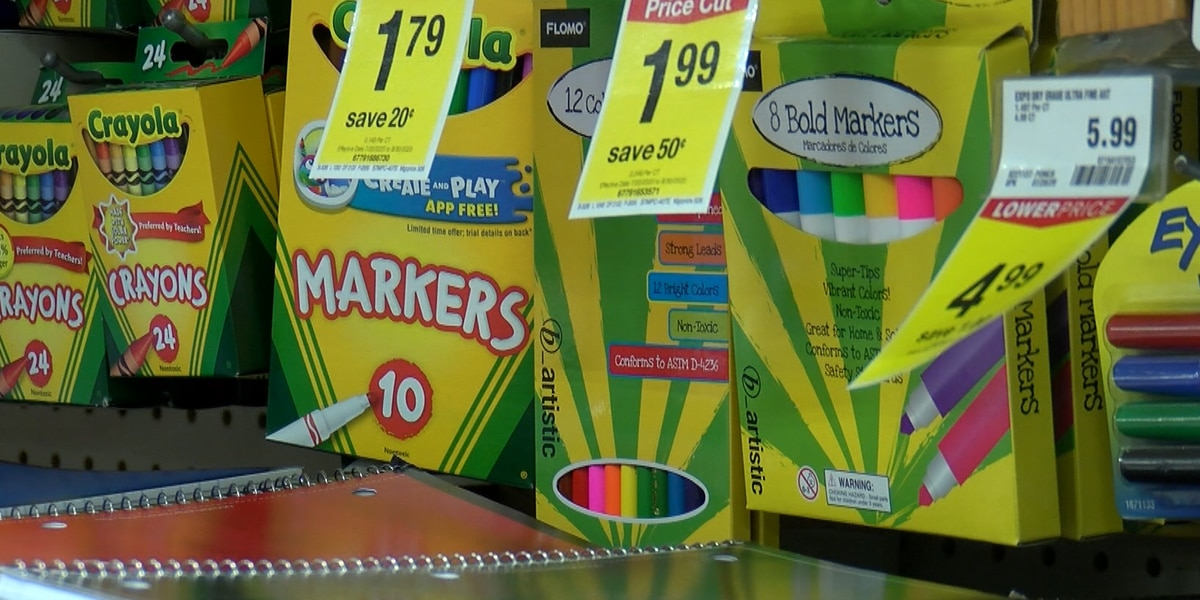 Amarillo community comes together to help families gather back to school necessities