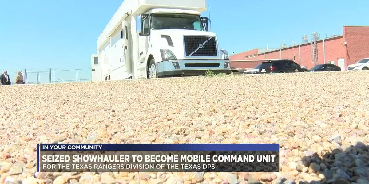 Area drug bust results in new mobile command unit for Texas Rangers