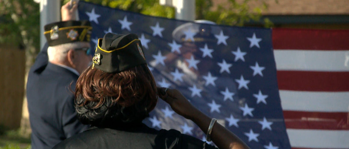 Unclaimed veterans honored in a long overdue military burial