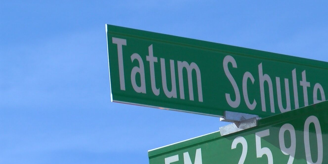 Tatum Schulte name lives on in Canyon neighborhood