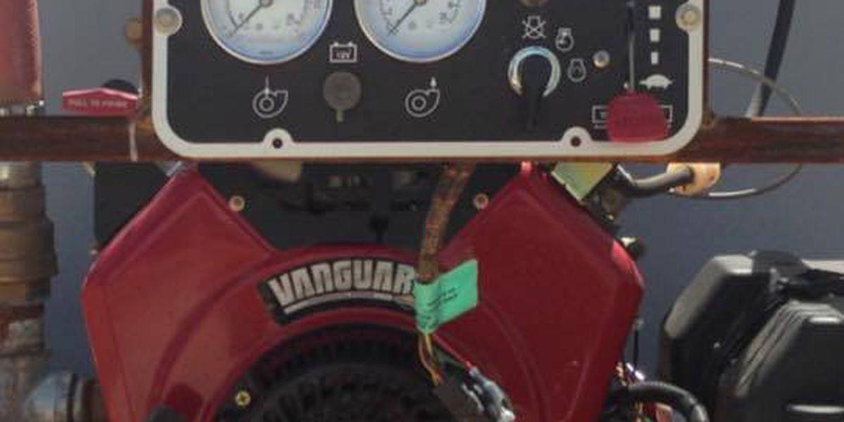 Pump stolen off Farwell Fire Department grass truck