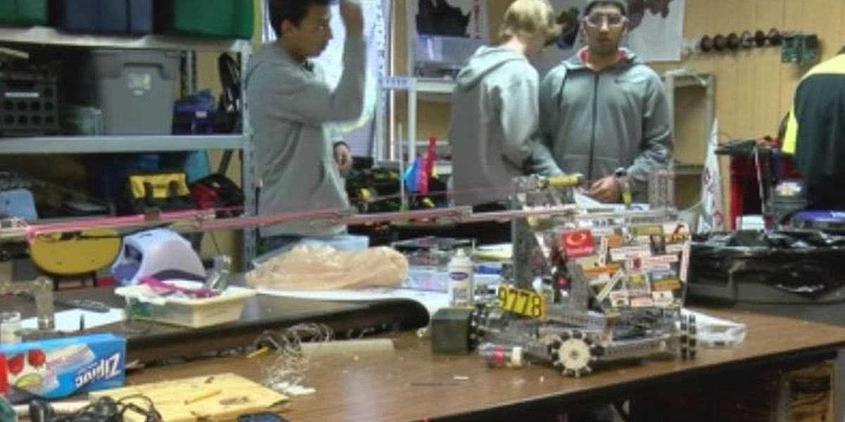 Robotics students at Kelton ISD head to nationals for the 3rd year in a row