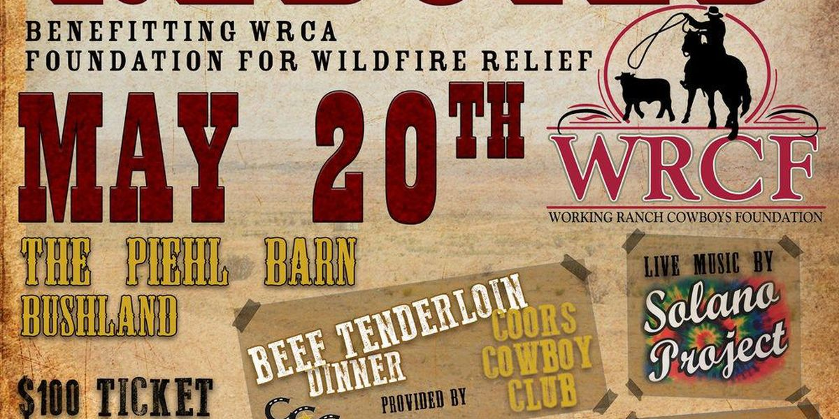 The Great Ranch Rebuild to benefit wildfire relief