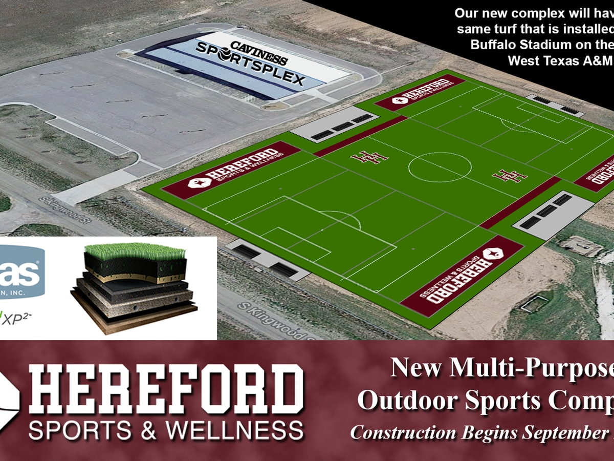 New outdoor sports complex coming to Hereford