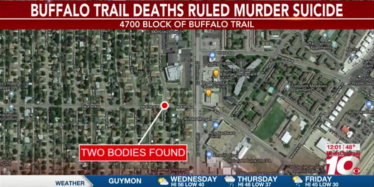 VIDEO: Amarillo police: Deaths on Buffalo Trail determined murder suicide