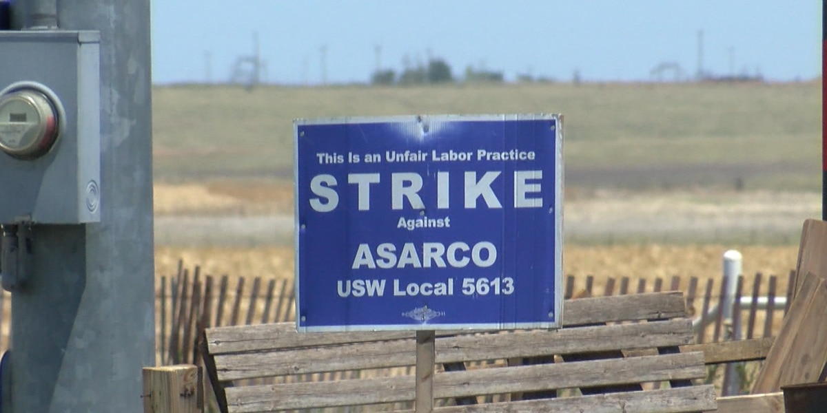 National Labor Relations Board files complaint against ASARCO, striking has gone on for more than 7 months