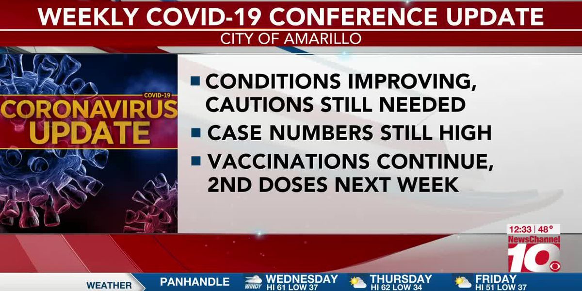 VIDEO: Amarillo Public Health to begin delivering 2nd doses of COVID-19 vaccines next week