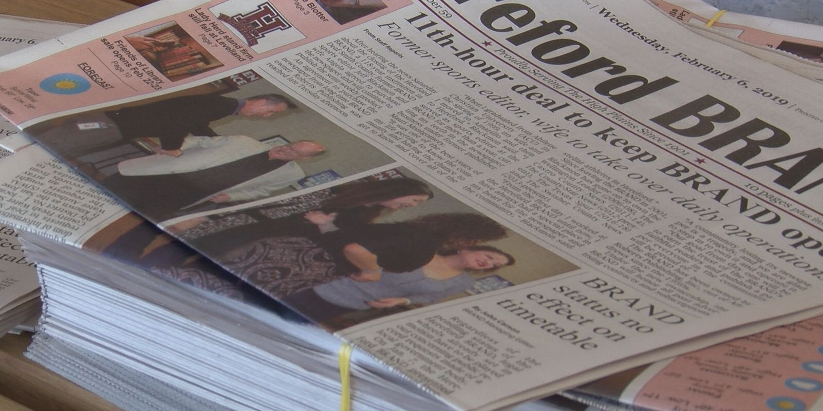 Hereford newspaper gets second chance after former employee purchases the publication