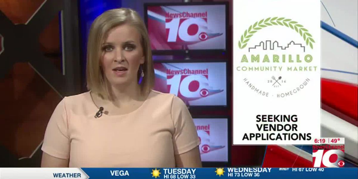 VIDEO: 2021 Amarillo Community Market looking for vendor applicants