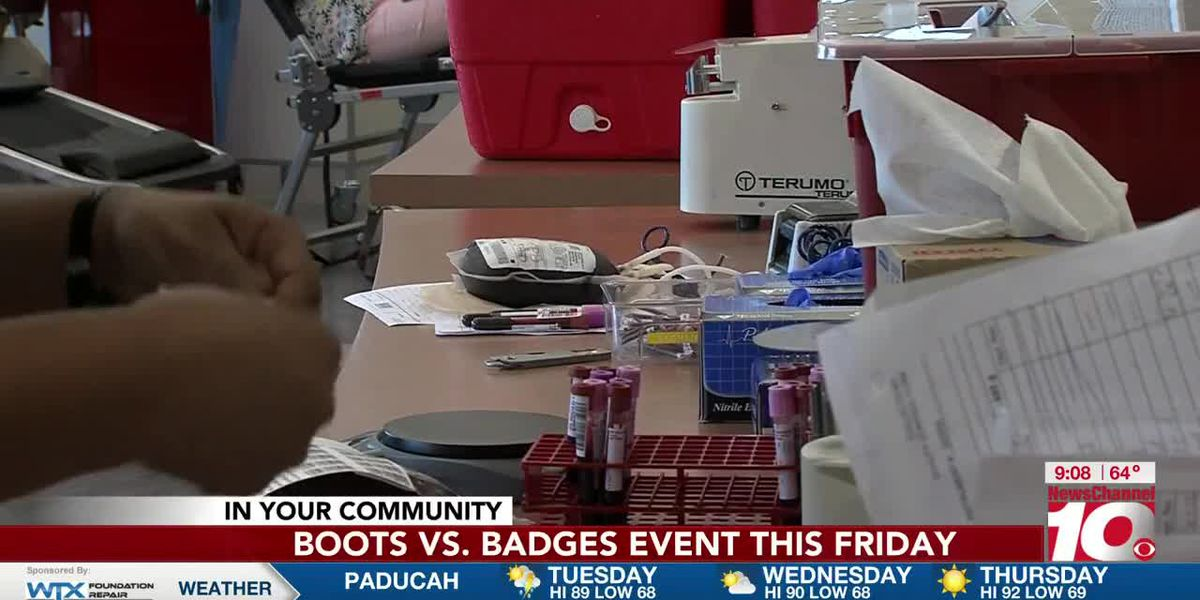 INTERVIEW: Be sure to check out the Boots vs. Badges event this Friday