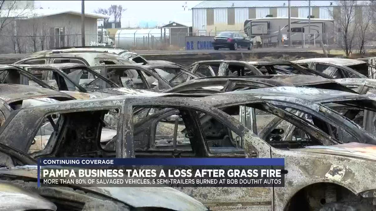 Pampa business takes a loss after grass fire