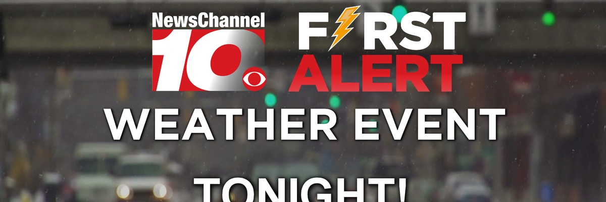 First Alert: Strong cold front brings rain and snow
