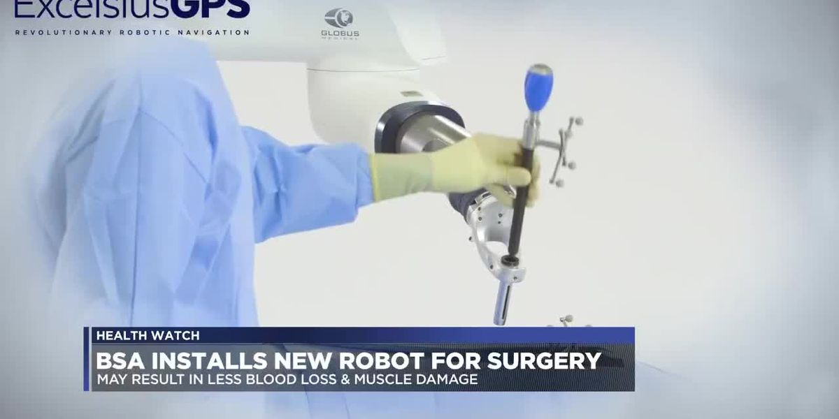 BSA installs 'most modern robotic technology available today'