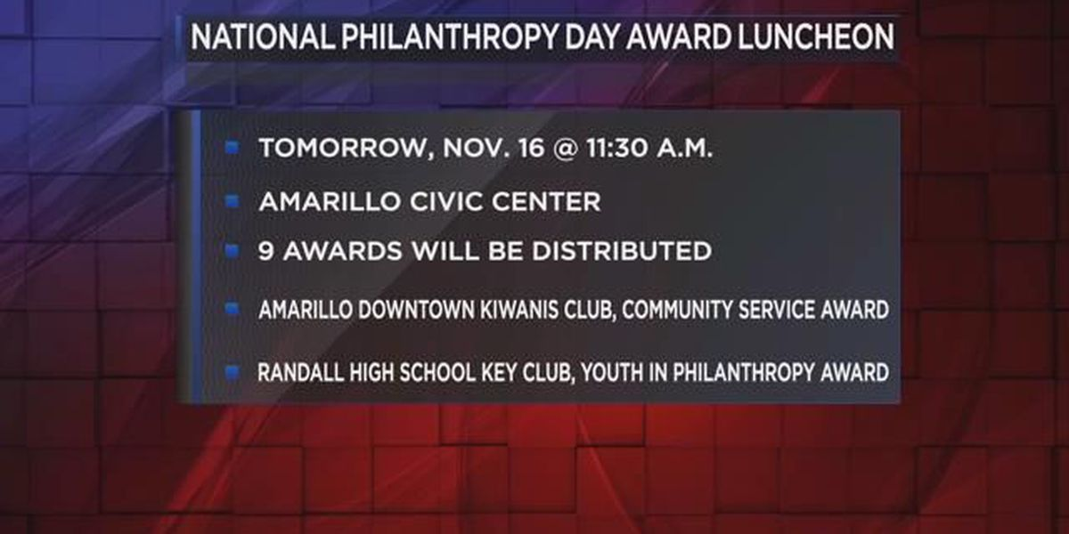 Area National Philanthropy Day honorees announced
