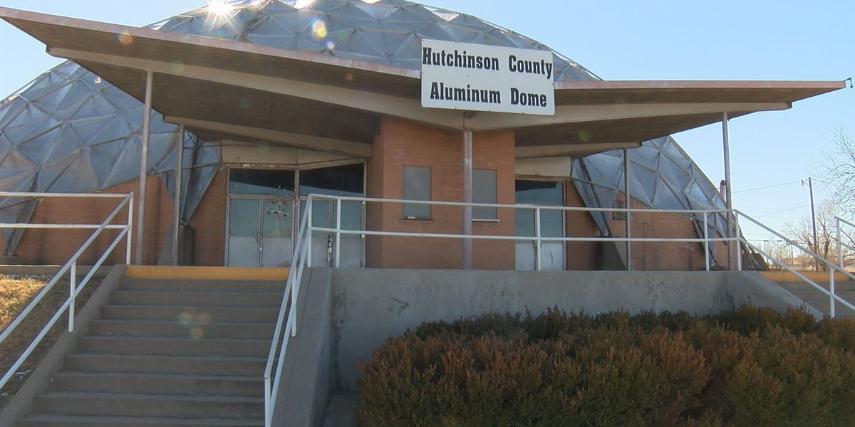 Hutchinson County deeds aluminum dome to City of Borger