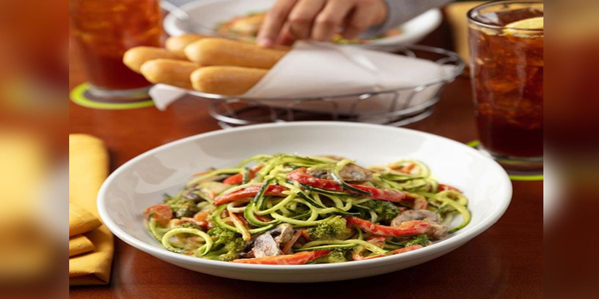 'Zoodles' officially on the Olive Garden menu