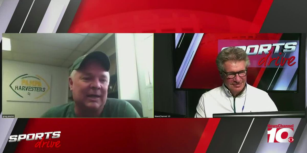 SPORTS DRIVE: Lance with Greg Poynor Pampa football Coach