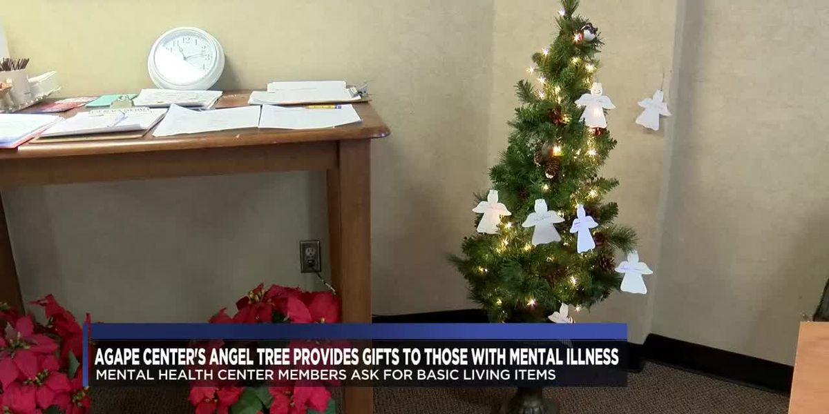 Agape Center's Angel Tree provides gifts to those with mental illness