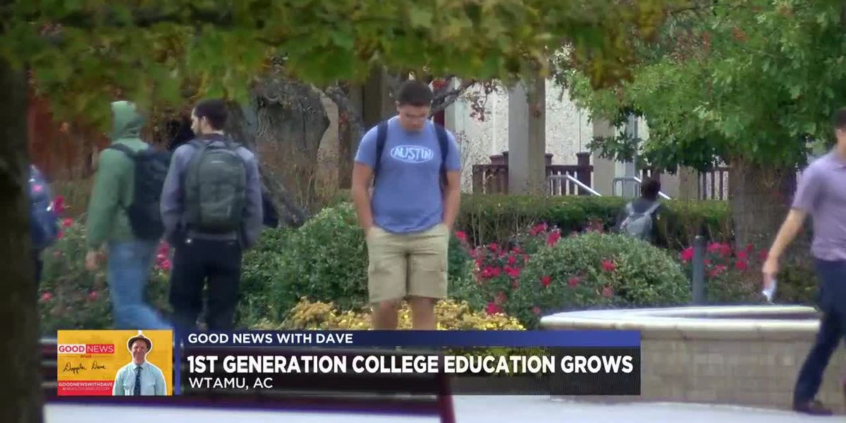 Good News with Dave: first generation students blaze a new trail