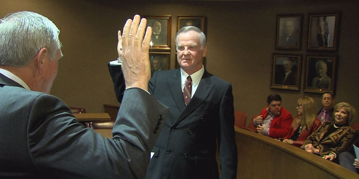 Sims, Brumley sworn in for another term