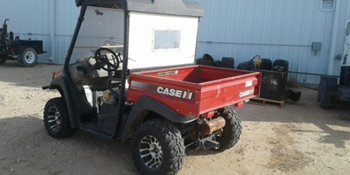 Dallam County officials looking for stolen utility vehicle