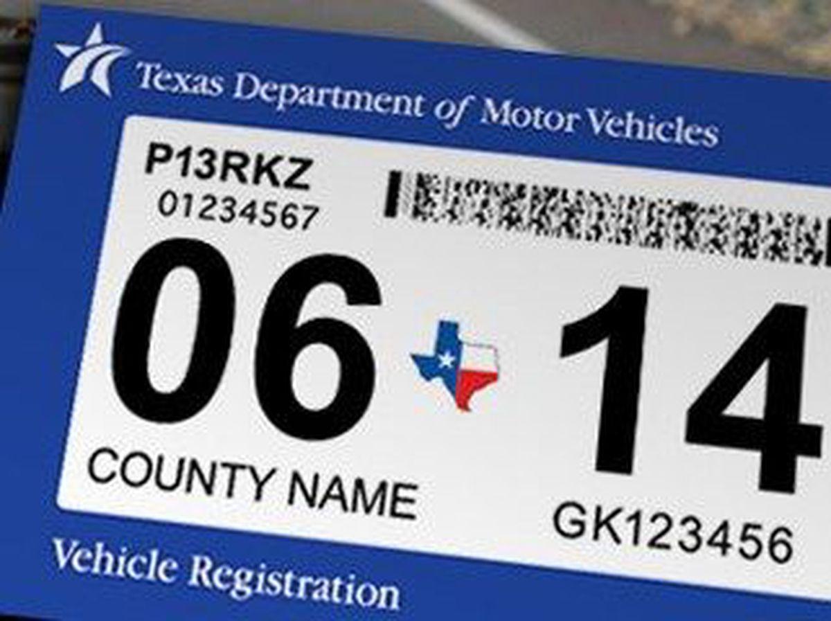 Texas To No Longer Require Auto Inspection Sticker