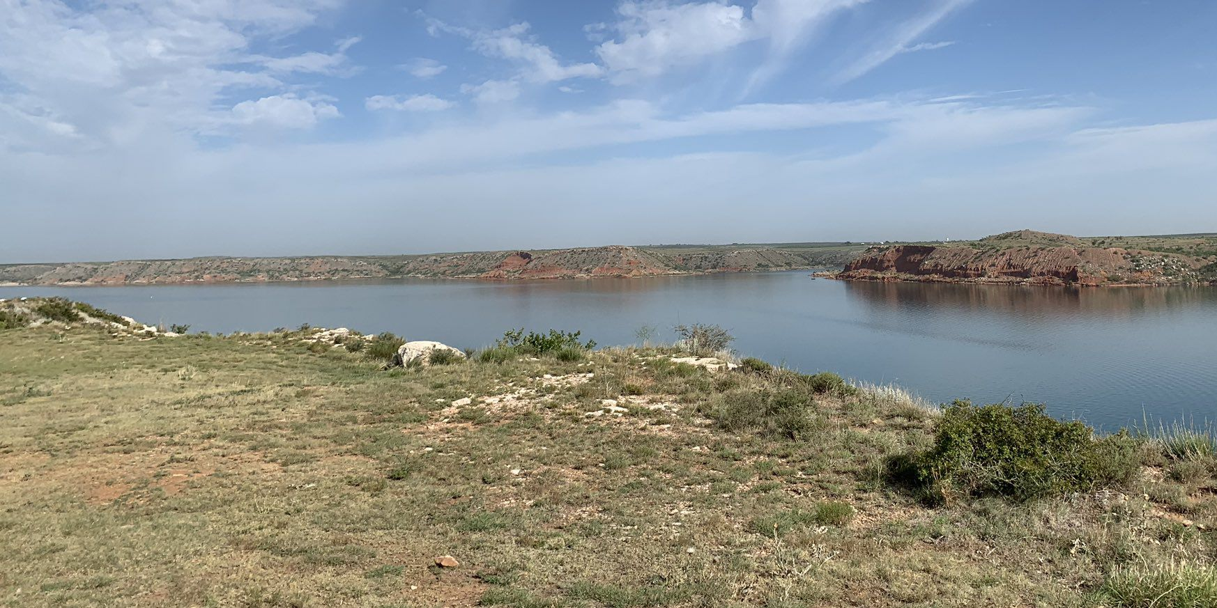 Lake Meredith experiencing record numbers in pandemic, expects big holiday weekend