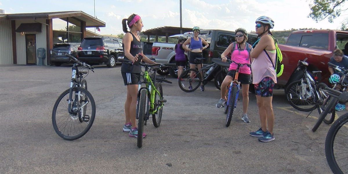 Amarillo women training for triathlon
