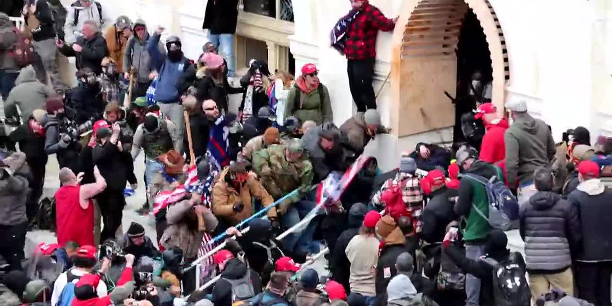 GRAPHIC: Video of Capitol riot shows brutal assault on DC police officer