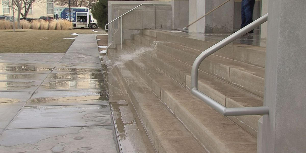 Flooding damages Potter County Courthouse