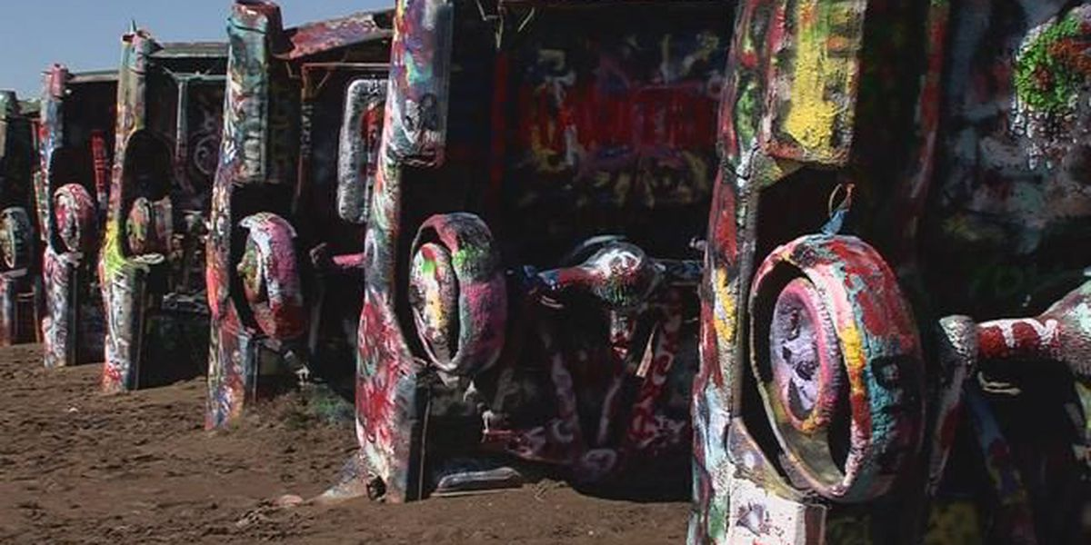 Campaign aiming to remove Marsh art from Amarillo