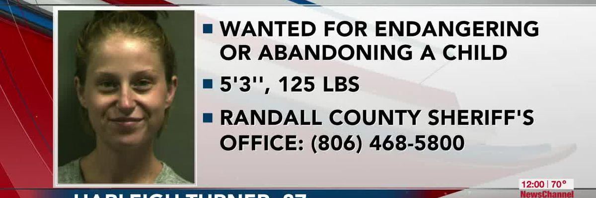 VIDEO: Woman wanted by Randall County officials for abandoning or endangering a child