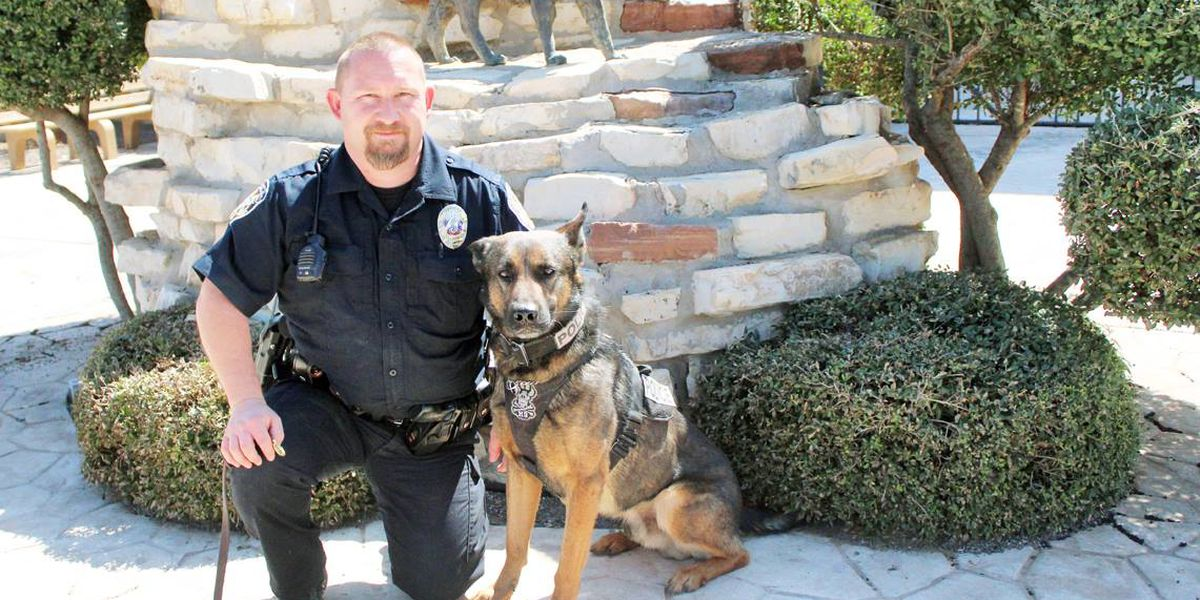 Childress K-9 officer to receive new protective vest