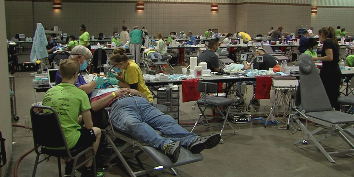 Texas Mission of Mercy gives out free dental care to those in need
