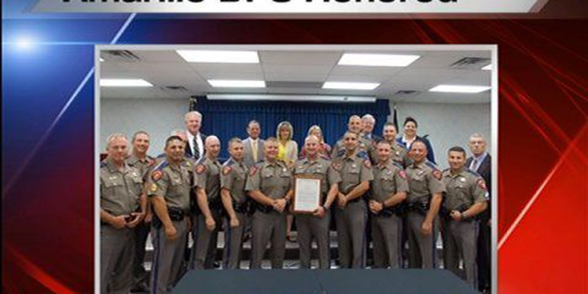 Amarillo DPS honored