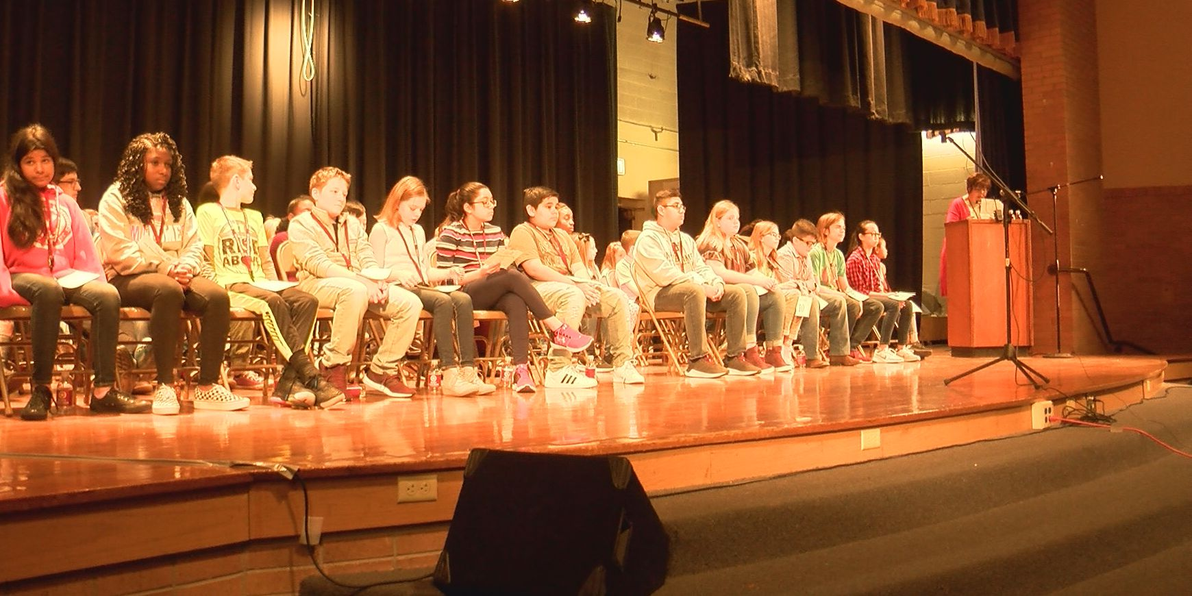 54 students compete in Potter County Spelling Bee