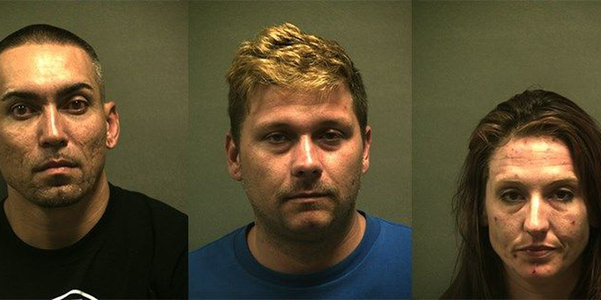 Narcotics search warrant leads to arrest of 3