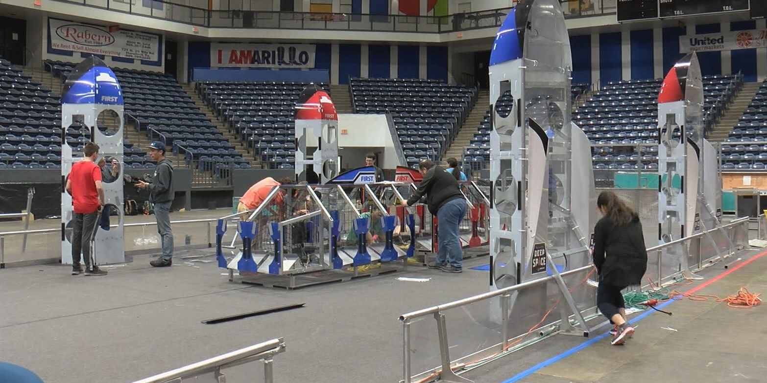 Amarillo hosts district robotics competition this weekend