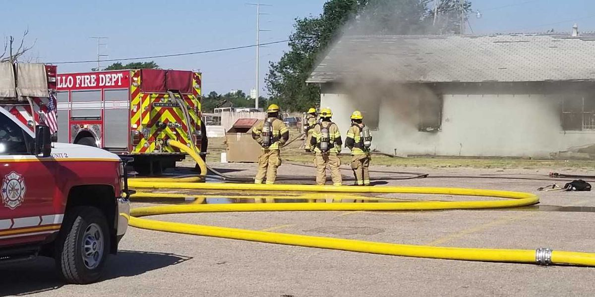 Officials say paint sprayer caused fire at Amarillo business