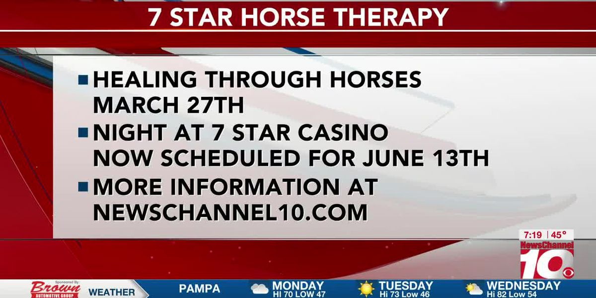INTERVIEW: Courtnie talks about casino night at the 7 Star Horse Therapy