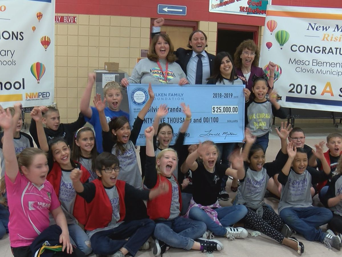 New Mexico teacher receives $25,000 Milken Educator Award