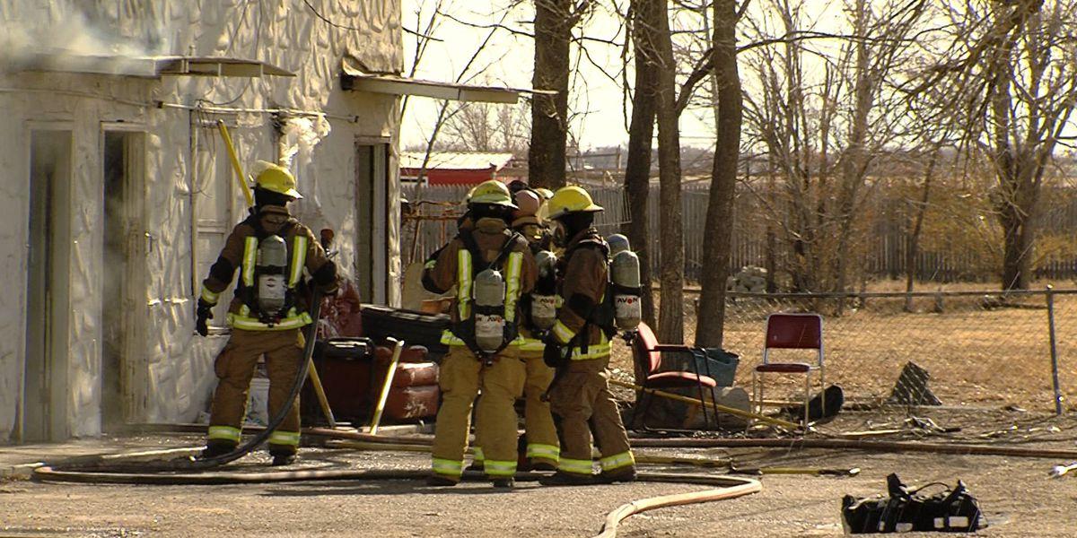 Amarillo Fire Department investigating cause of Amarillo Blvd. structure fire
