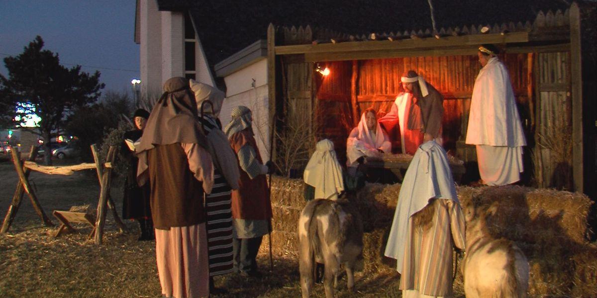 Nativity scene brought to life