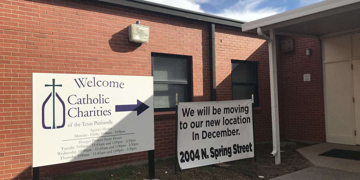 New year, new location: Catholic Charities' food bank closing until next year