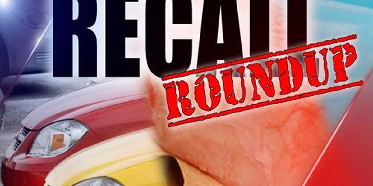 RECALL ROUNDUP: Foods are causing injury/illness, plus different airbags for automakers