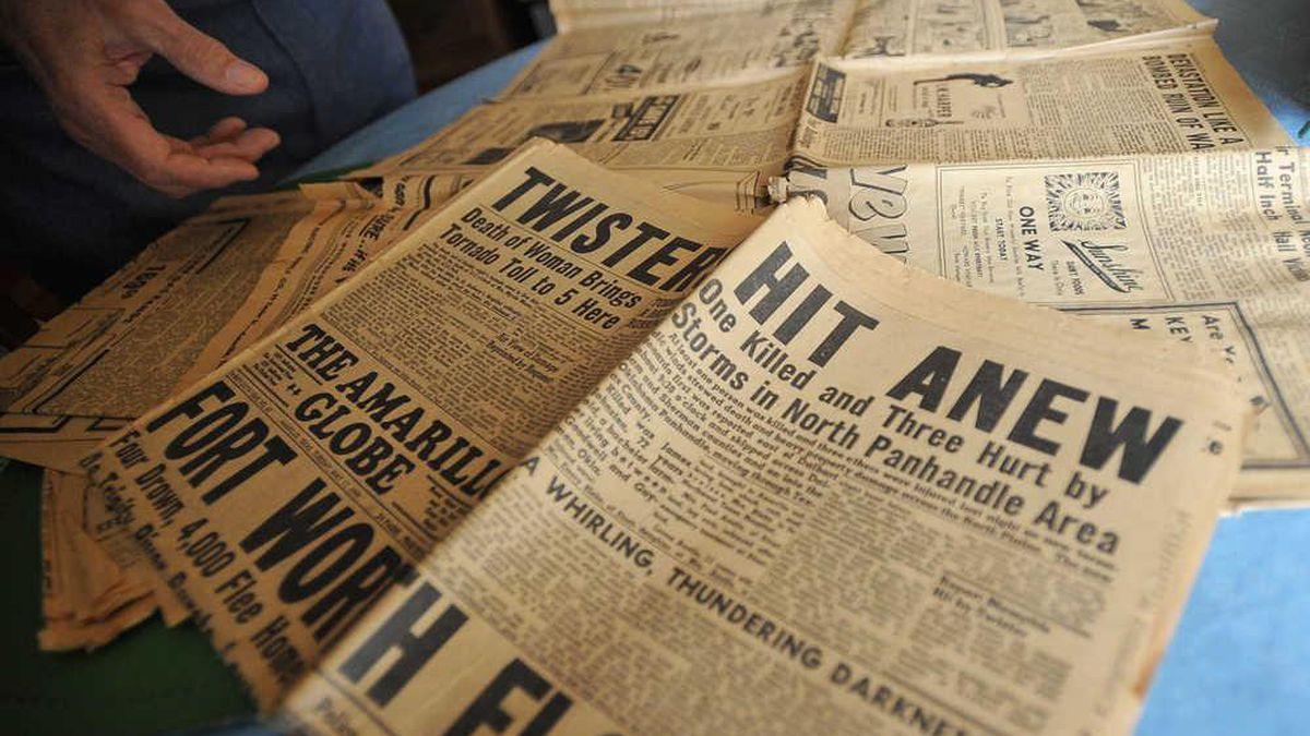 Revisiting the path of Amarillo's record 1949 tornado