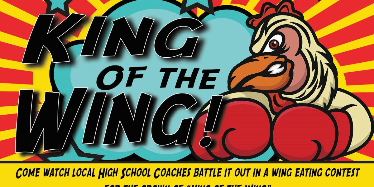 'King of the Wing' pits Amarillo high school coaches in wing-eating challenge