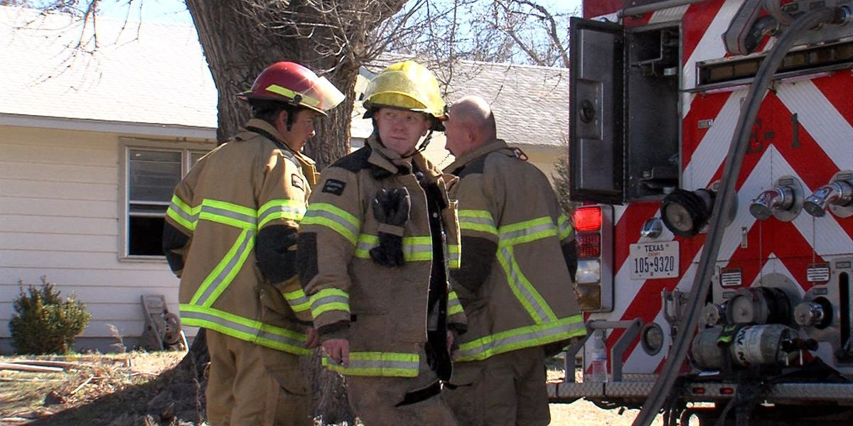 High winds down electrical line causing house fires